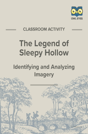 The Legend of Sleepy Hollow Imagery Activity