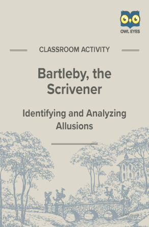 Bartleby, the Scrivener Allusion Activity