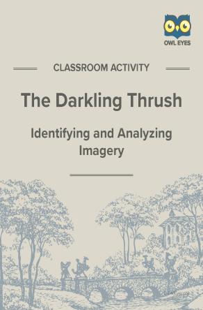 The Darkling Thrush Imagery Activity