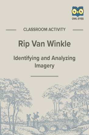 Rip Van Winkle Imagery Activity