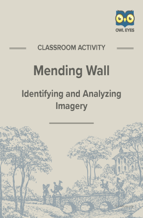 Mending Wall Imagery Activity