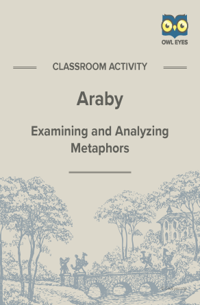 Araby Metaphor Activity