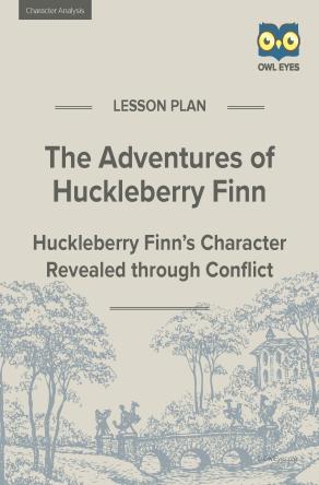 Huckleberry Finn Character Analysis Lesson Plan