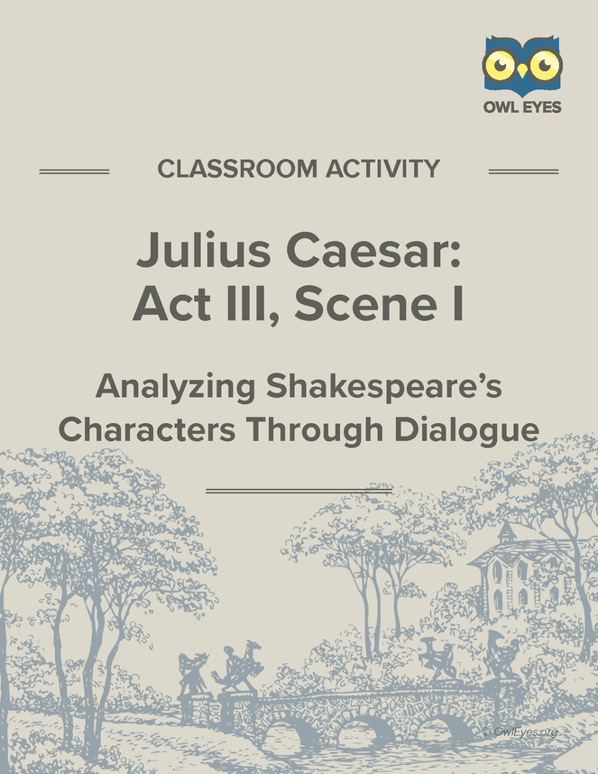 caesar critical criticism essay julius shakespeare Email to friends share on facebook - opens in a new window or tab share on twitter - opens in a new window or tab share on pinterest - opens in a new window or tab.