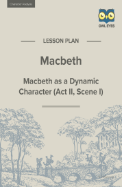 Cover image for Macbeth Character Analysis Lesson Plan