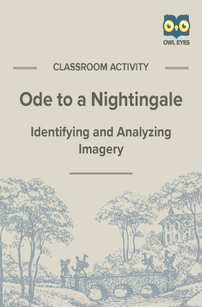 Ode to a Nightingale Imagery Activity