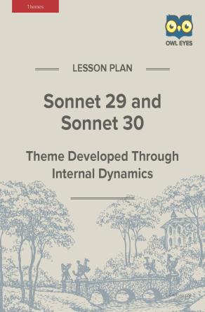 Sonnet 29 and Sonnet 30 Themes Lesson Plan