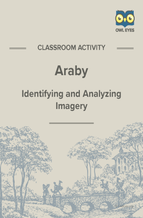 Araby Imagery Activity