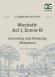 Macbeth Act I Scene III Metaphor Activity page 1