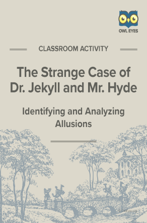Dr. Jekyll and Mr. Hyde Allusion Activity