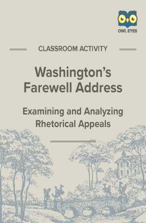 Washington's Farewell Address Rhetorical Appeals Activity