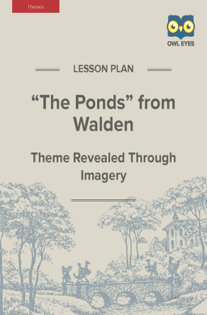 """Walden """"The Ponds"""" Themes Lesson Plan"""