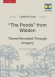 """Walden """"The Ponds"""" Themes Lesson Plan page 1"""