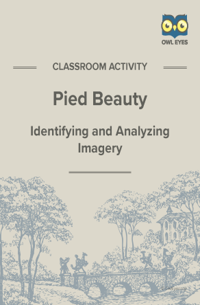 Pied Beauty Imagery Activity