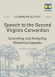 Speech to the Second Virginia Convention Rhetorical Appeals Activity page 1