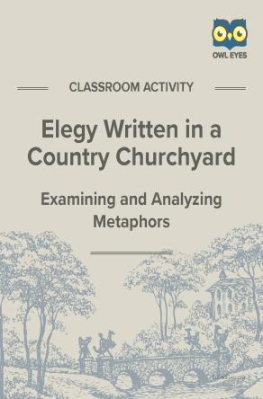 Elegy Written in a Country Churchyard Metaphor Activity
