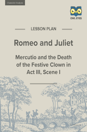 Romeo and Juliet Character Analysis Lesson Plan
