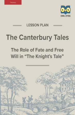 The Canterbury Tales Themes Lesson Plan