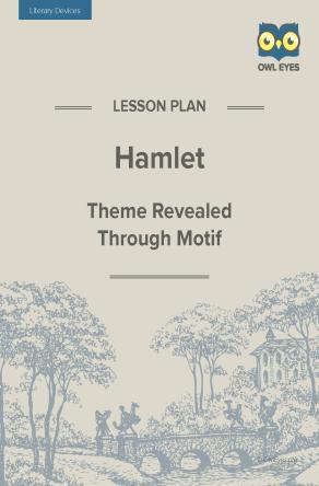 Hamlet Literary Devices Lesson Plan
