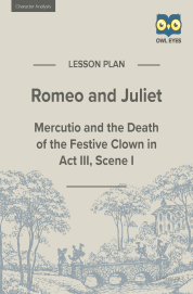 Cover image for Romeo and Juliet Character Analysis Lesson Plan