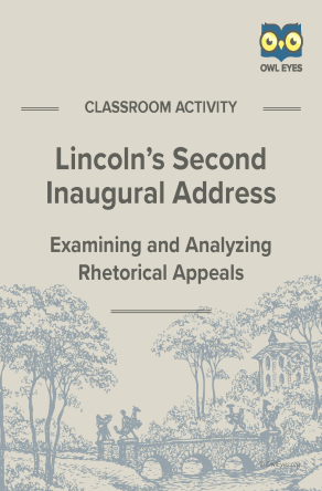 Second Inaugural Address Rhetorical Appeals Activity