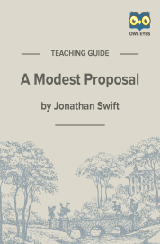Cover image for A Modest Proposal Teaching Guide