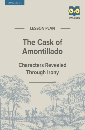The Cask of Amontillado Literary Devices Lesson Plan