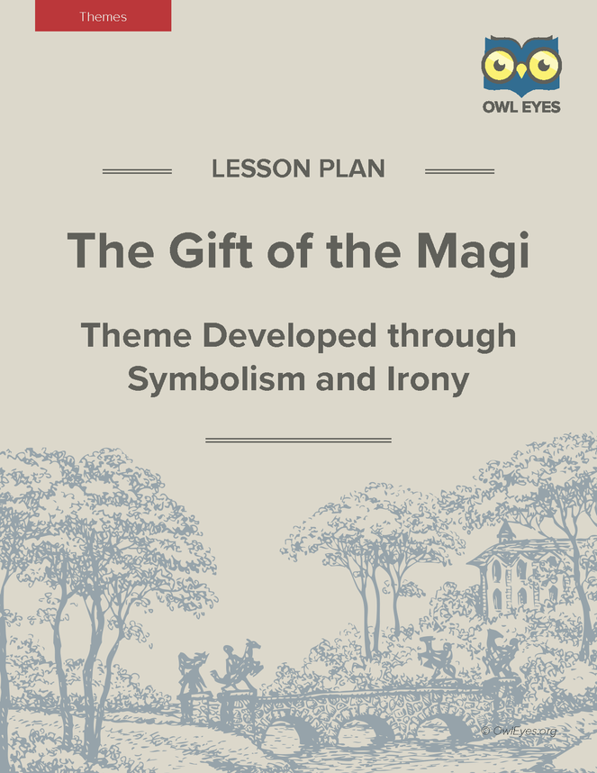 The gift of the magi themes lesson plan owl eyes the gift of the magi themes lesson plan negle Images
