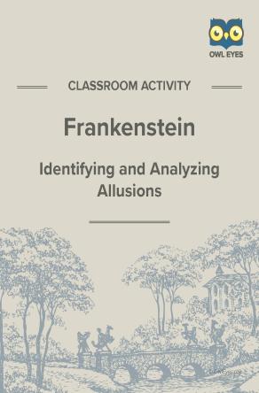 Frankenstein Allusion Activity