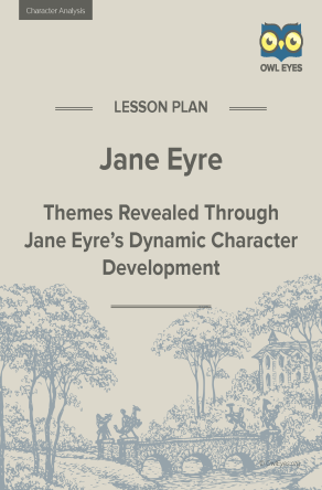 Jane Eyre Character Analysis Lesson Plan