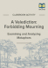 A Valediction: Forbidden Mourning Metaphor Activity page 1