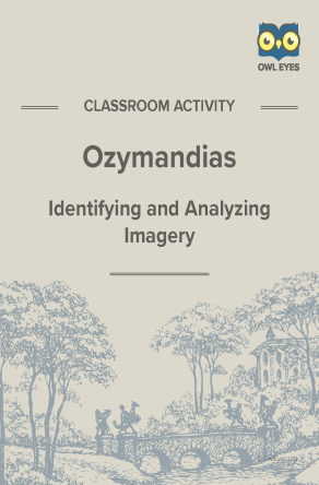 Ozymandias Imagery Activity