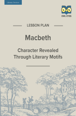 Macbeth Literary Devices Lesson Plan
