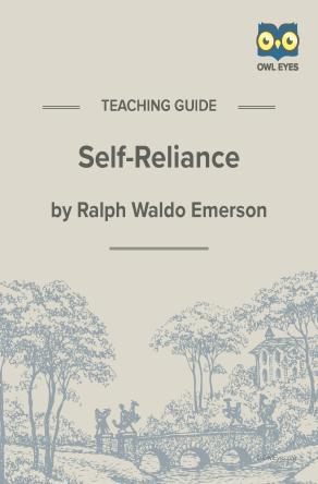 Self-Reliance Teaching Guide