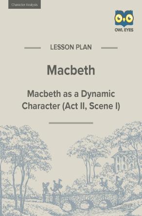 Macbeth Character Analysis Lesson Plan